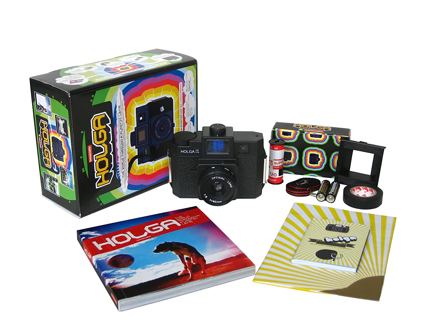 Amazon.com : Lomographic Holga Starter Kit : Single Use Film ...