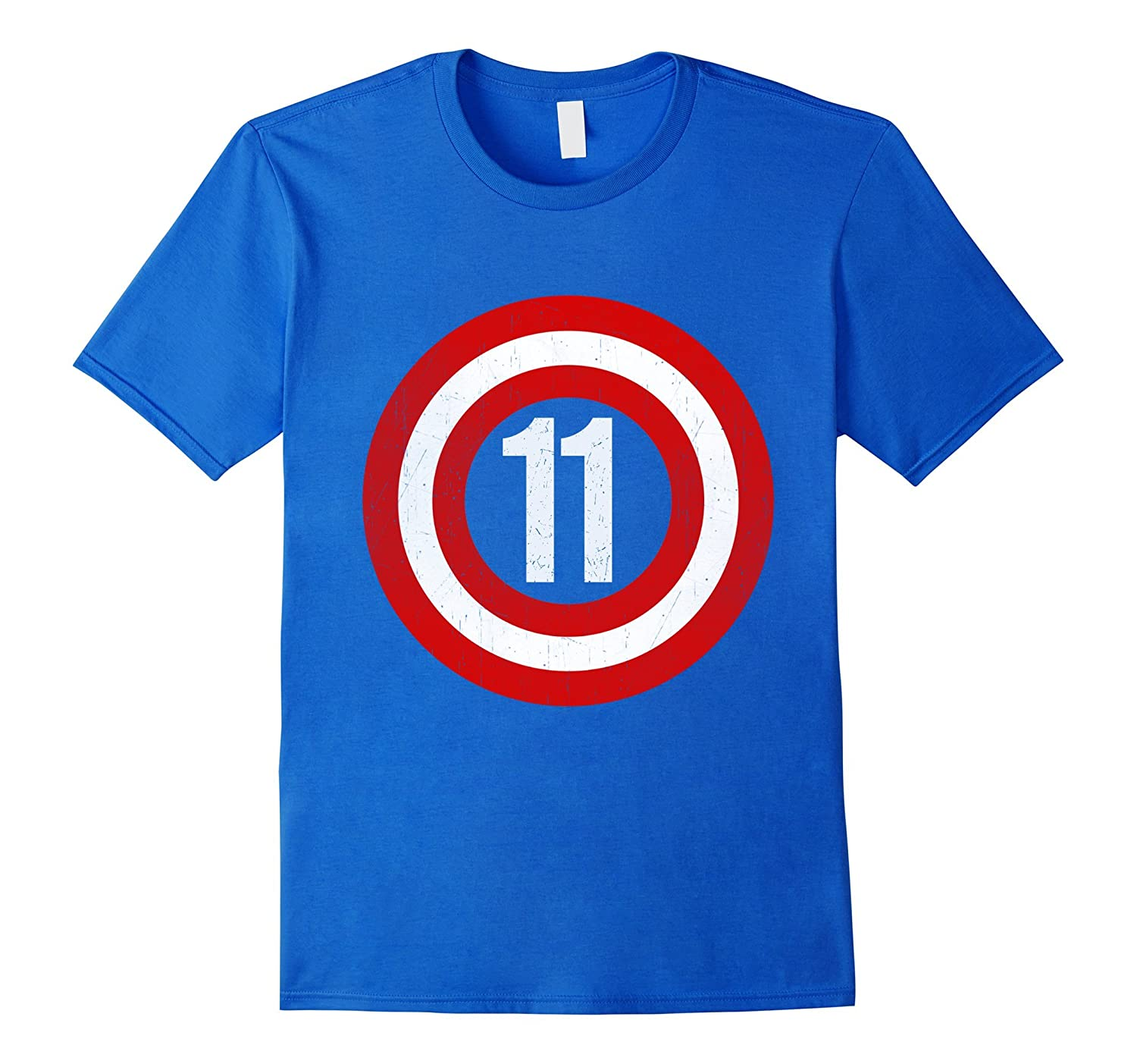 Captain 11th Birthday Tshirt Gift 11 Years Old Kids Boy Girl TD
