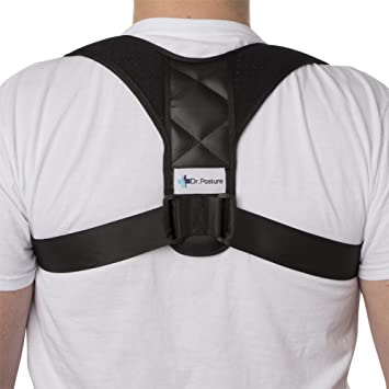 f05815c4d1 Posture Corrector for Women and Men - Adjustable Back Brace Corrects Smart  Phone and Computer-
