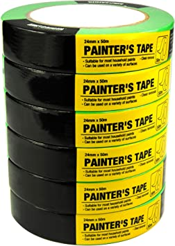 Multi-Purpose Tape for a Variety of Uses Including Painting 2 General Purpose Masking Tape