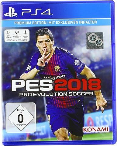 PES 2018 - Premium Edition - PlayStation 4 [Importación alemana ...