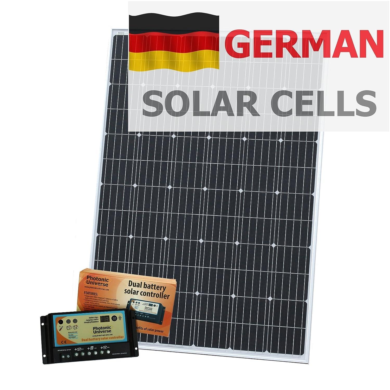 Photonic Universe Dual Battery Solar Controller New Solar Panels