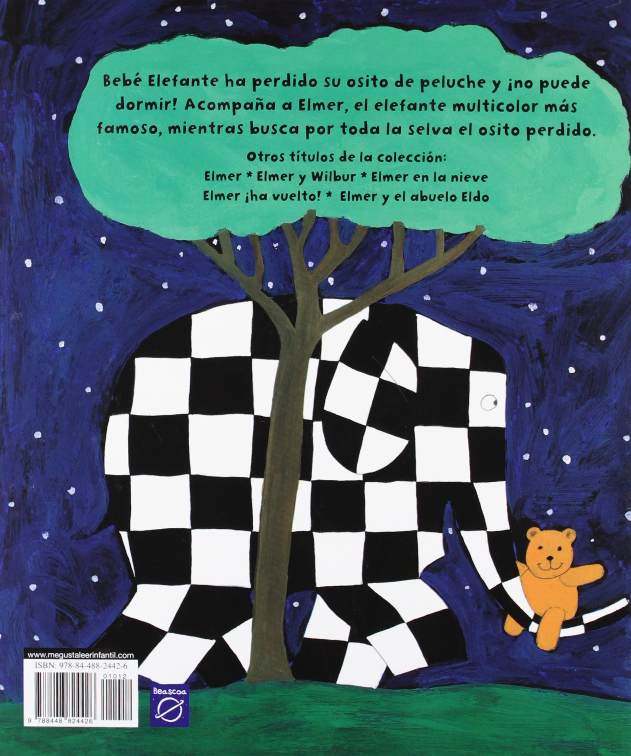 Elmer y el osito perdido/ Elmer and the Lost Teddy (Spanish Edition): David McKee: 9788448824426: Amazon.com: Books