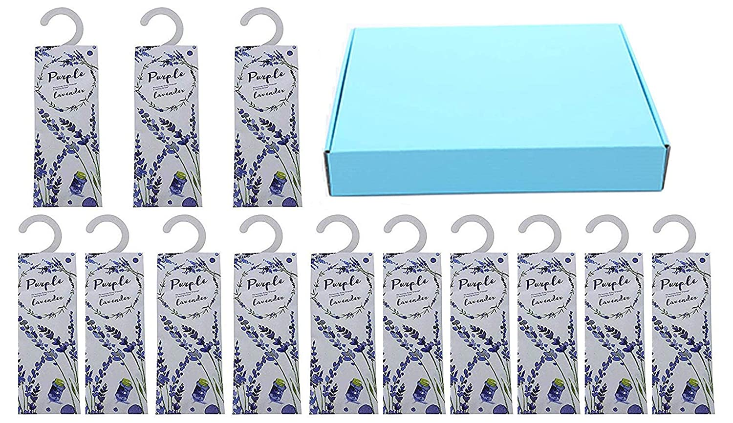 13 Packs Lavender Sachets Drawer and Closet Best Gift Anianiau
