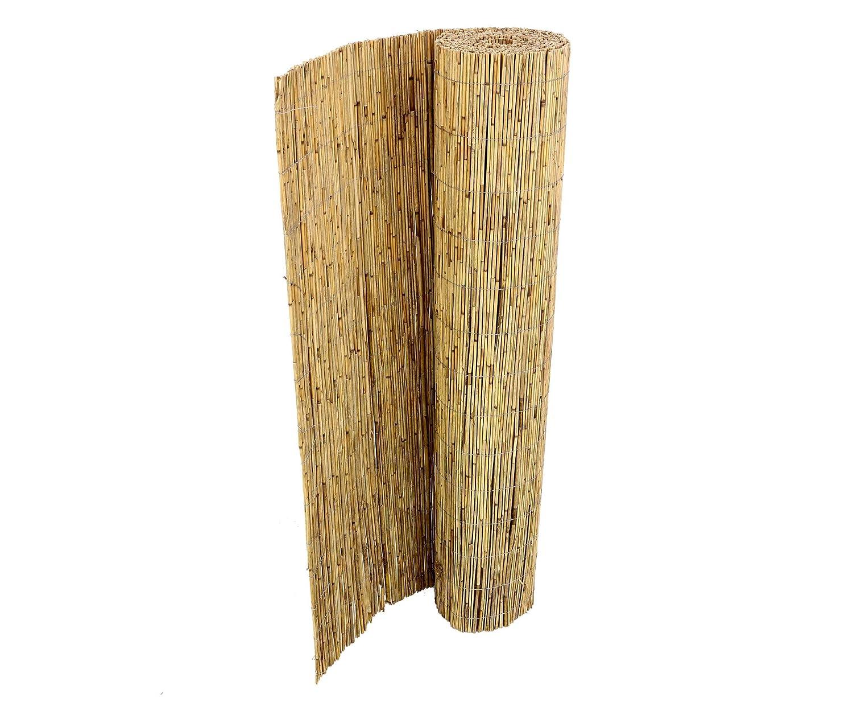 bambus-discount.com Schilfrohrmatte Premium 160 x 300cm Sichtschutzmatte Schilfmatten