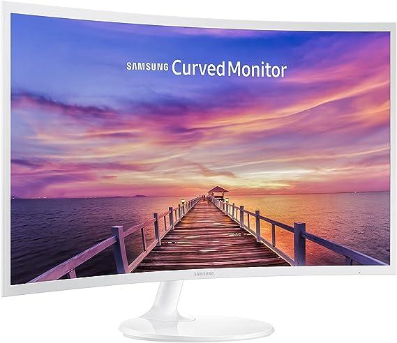 Samsung 32-inch Curved LED Monitor (Ultra- Slim Design) (LC32F391FWNXZA)