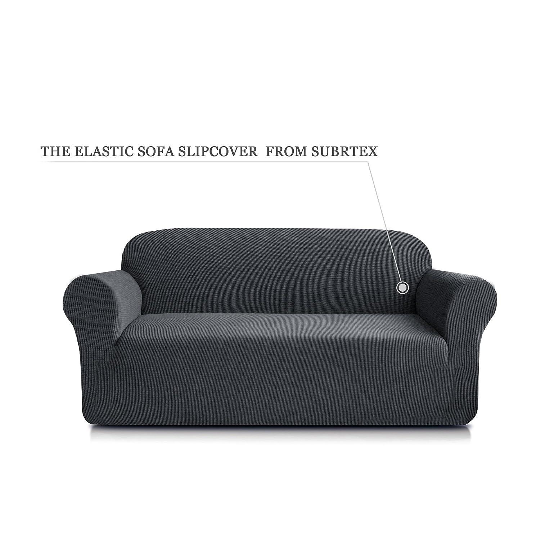 Subrtex 1-Piece Jacquard Spandex Stretch Sofa Slipcover (Gray, Loveseat):  Amazon.ca: Home & Kitchen