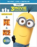 Despicable Me Collection: (Minions / Despicable Me / Despicable Me 2) [Blu-ray]