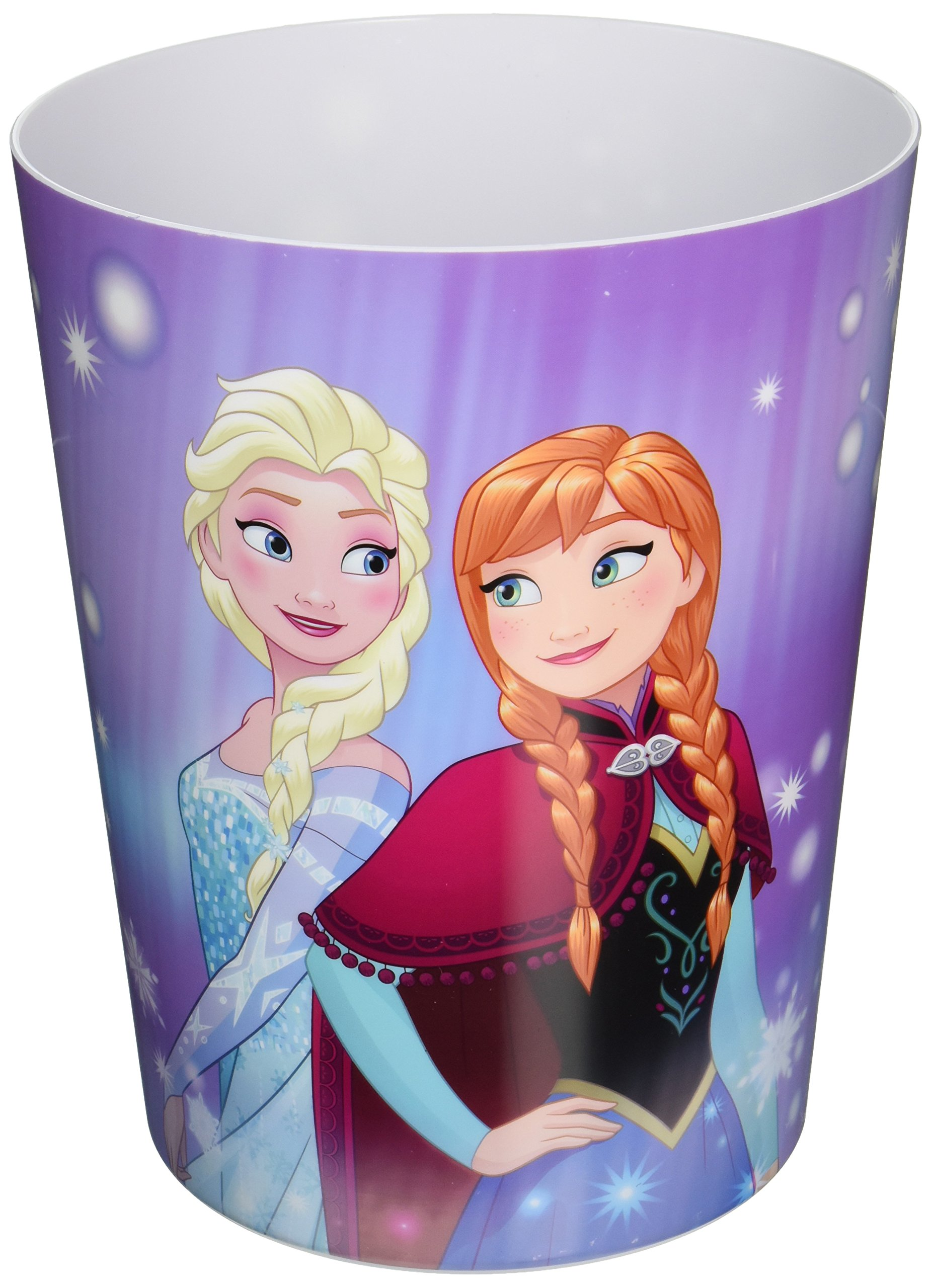 Disney Frozen Snowflake Waste Basket