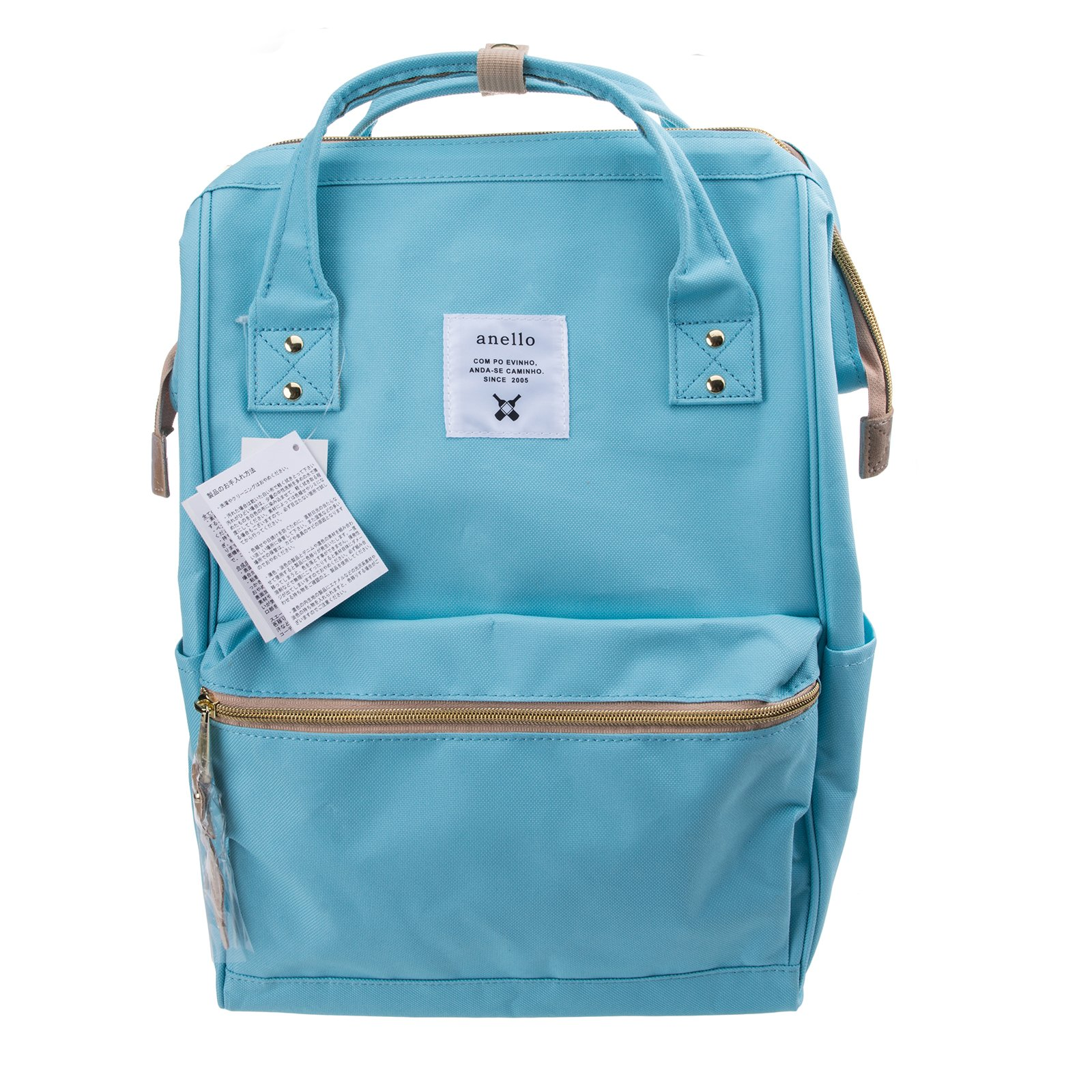 Anello Official Baby Blue Japan Fashion Shoulder Rucksack Backpack Hand Carry Tablet Diaper Bag Unisex