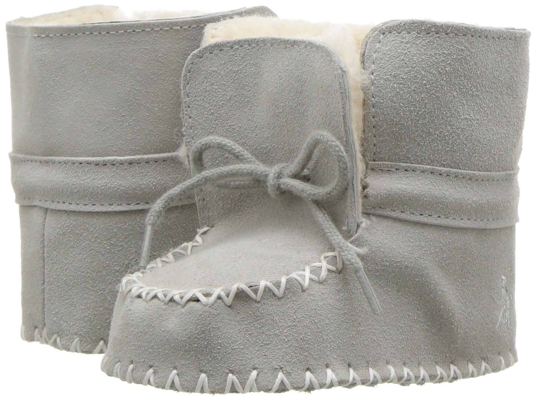 Ralph Lauren Layette Baby Pocono Boot, Grey Suede, 4 M US Infant
