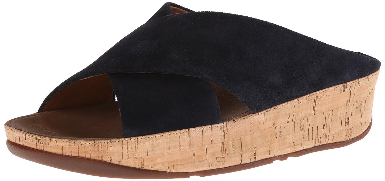 2c8b4a808 FitFlop Sandals KYSTM Suede Supernavy Supernavy UK7  Amazon.co.uk  Shoes    Bags