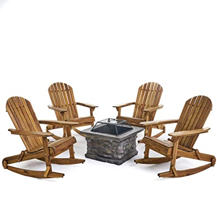Excellent Amazon Com Great Deal Furniture Benson Outdoor 5 Piece Pdpeps Interior Chair Design Pdpepsorg