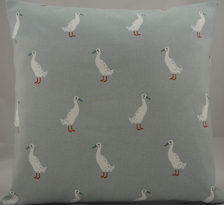 Sophie Allport **RUNNER DUCK**  Cotton Cushion Cover 40cm