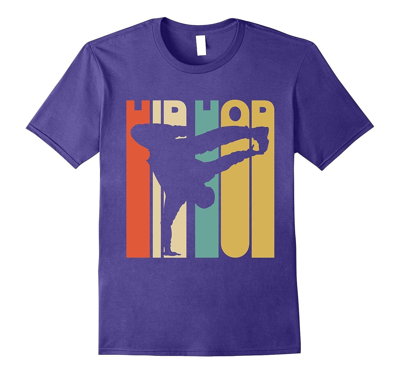 Vintage Style Hip Hop Silhouette T-Shirt-Vaci