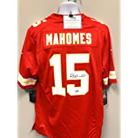 $699 » Patrick Mahomes Kansas City Chiefs Autograph Signed Red Nike Licensed Game Jersey Fanatics Certified
