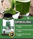 Spirulina Powder Capsules, Highest Quality Non