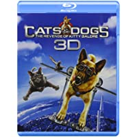 Deals on Cats & Dogs: The Revenge of Kitty Galore Blu-ray 3D