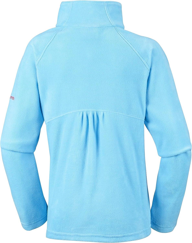 Polyester 1556943 Glacial Fleece Half Zip Columbia Fleecejacke f/ür M/ädchen mit halbem Rei/ßverschluss
