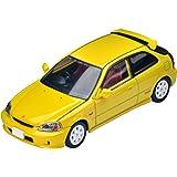 トミカリミテッドヴィンテージ ネオ 1/64 LV-N165a ホンダ シビック タイプR 99年式 黄 (メーカー初回受注限定生産) 完成品