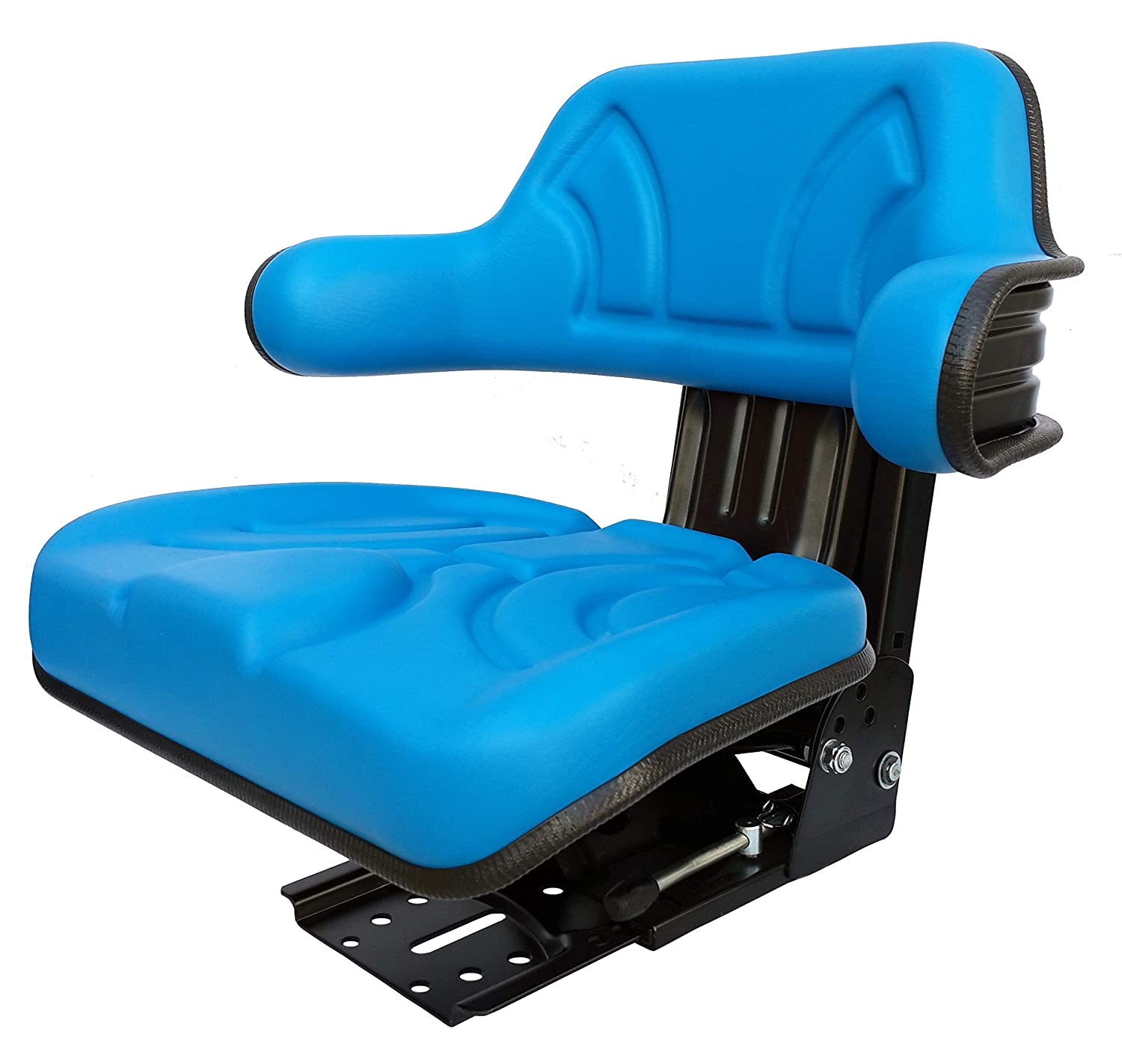 Tractor Asiento schlepper Asiento New Holland Ford Oldtimer Asiento PVC Azul Compatible Con KlaraSeats