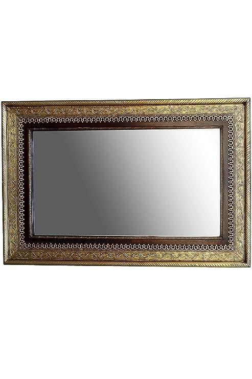 Orient Wedat Espejo de Pared, 110 cm, Grande, Dorado, Espejo ...