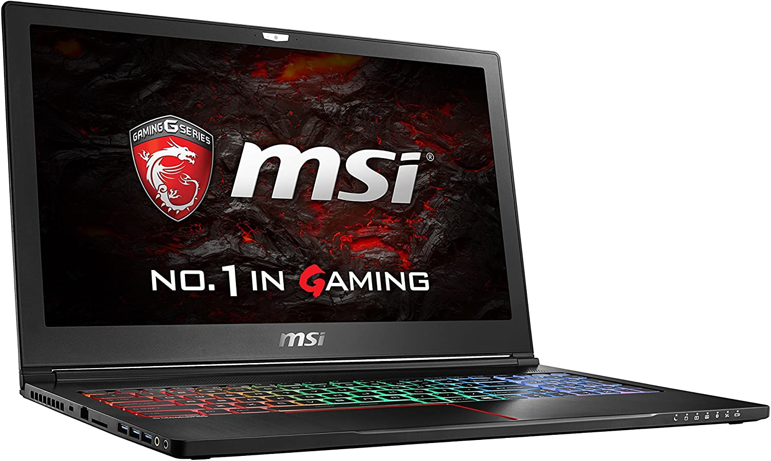 "MSI VR Ready GS63VR Stealth Pro 4K-021 15.6"" 4K Display Slim and Light Gaming Laptop GTX 1060 i7-6700HQ 16GB 512GB M.2 SATA + 1TB Windows 10"