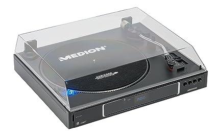 Medion 50050682 Life P67006 Tocadiscos automático: Amazon.es ...