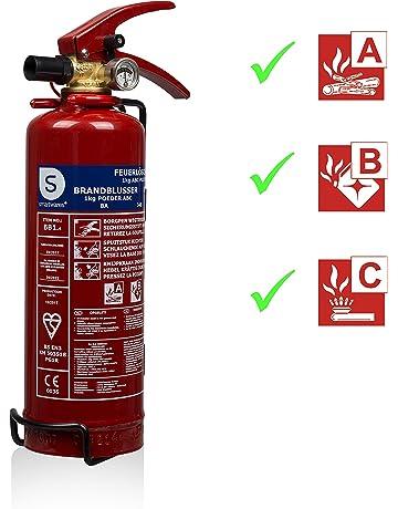 Smartwares 10.018.56 Extintor-1kg The Polvo seco Resistencia al Fuego ABC DUTHC NCP