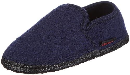 Giesswein Dannheim - Pantuflas unisex, color azul, talla 35