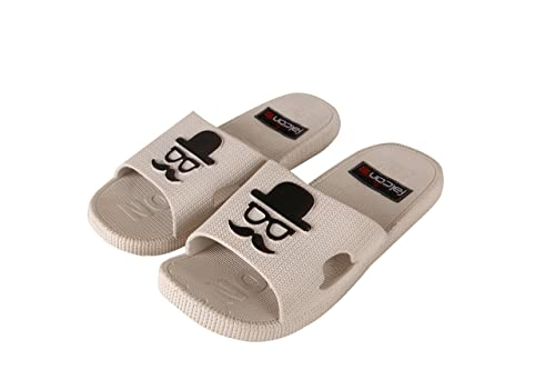 08915f932 Falcon18 Women s PCU Moustache Flipflops and Slide Slippers  Buy Online at Low  Prices in India - Amazon.in