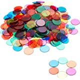 Learning Resources LER0131 Transparent Color Counting Chips, Set of 250