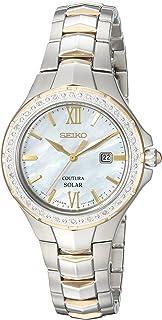 Seiko Womens Coutura Solar Diamond Bezel