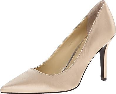LAUREN Ralph Lauren Sarina Heels Dress Pump Shoe Dark Brown Kid Suede Womens