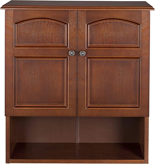 Elegant Home Fashions 2 Door Marcy Wall Cabinet