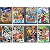 Anime One Piece Luffy Poster Wall Decor Art Print,Set of 8 pcs,11.5x16.5 inches
