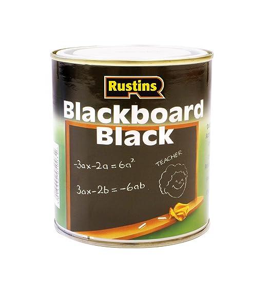 111 opinioni per Rustins Blackboard- Vernice per lavagna (125/250/500 ml, 1/2,5 litri), colore: