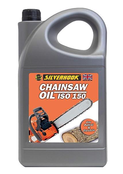 Silverhook Aceite para Motosierra SHCS5 ISO 150, 4,54 L: Amazon.es ...