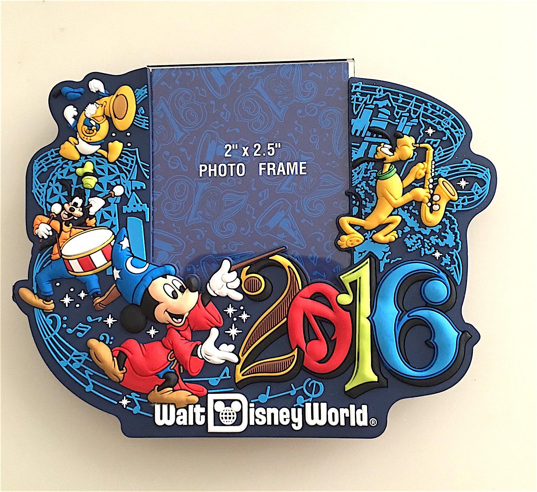 Walt Disney World 2016 Magnetic Photo Frame NEW