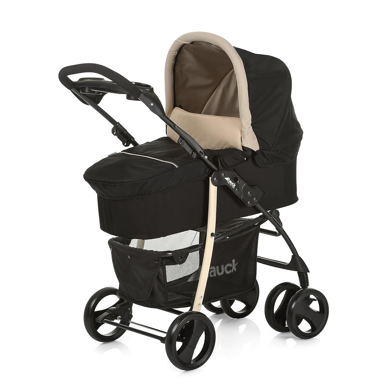 Hauck Shopper SLX trioset - Coche de bebes 3 piezas de capazo, de 0 meses hasta 25 kg, botellero, facil y comodo plegado, sillita y grupo 0+, ...