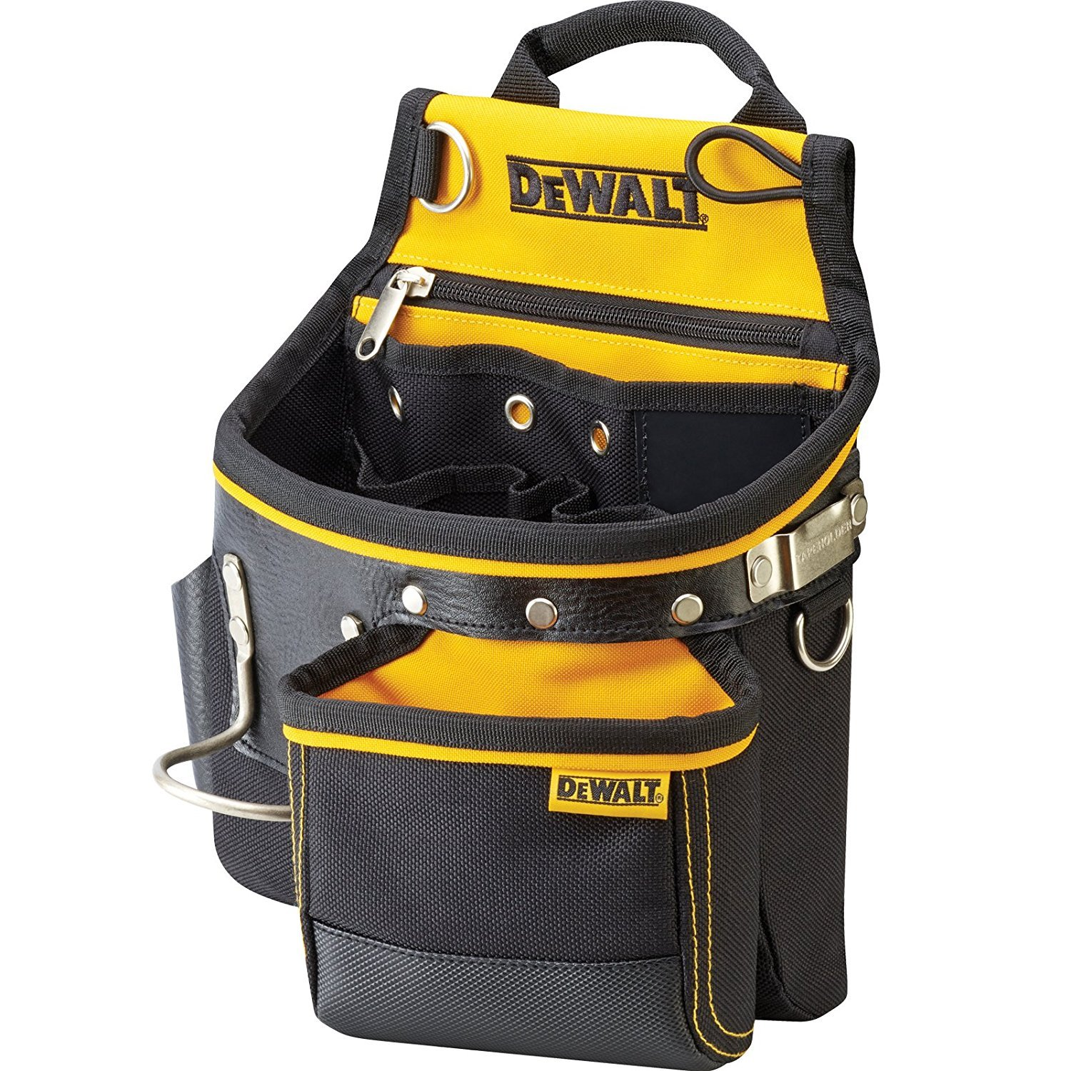 Dewalt DWST1-75652 Hammer and Nail Pouch, Yellow/Black