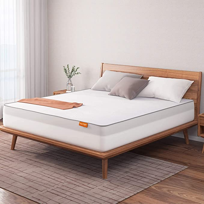 Amazon.com: Sweetnight Mattress Topper Queen Size with Waterproof Mattress Protector, 2 Inch Cooling Egg Crate Gel Memory Foam Topper Ultra Plush, Plus 4 Bed Sheet Holder Straps, Queen Size, White (SN-T001-2-Q): Home & Kitchen