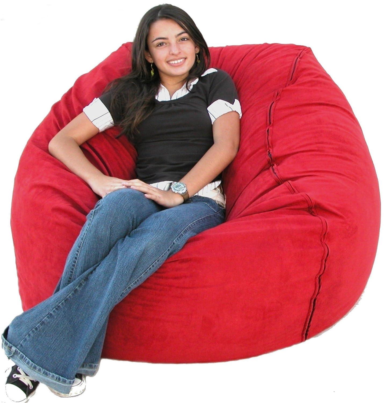 Amazon Cozy Sack 4 Feet Bean Bag Chair Purple