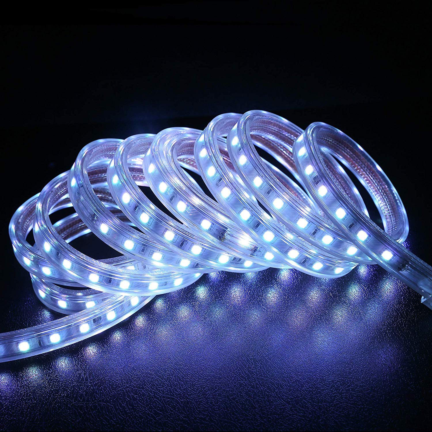 WYZworks SMD 5050 16 Colors LED Flexible Dimming Light Rope Strip Remote Controlled/IR Receiver - 100 Feet by WYZworks (Image #2)