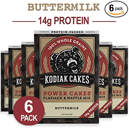 Kodiak pasteles Flapjack y potencia de Waffle de mezclar ...