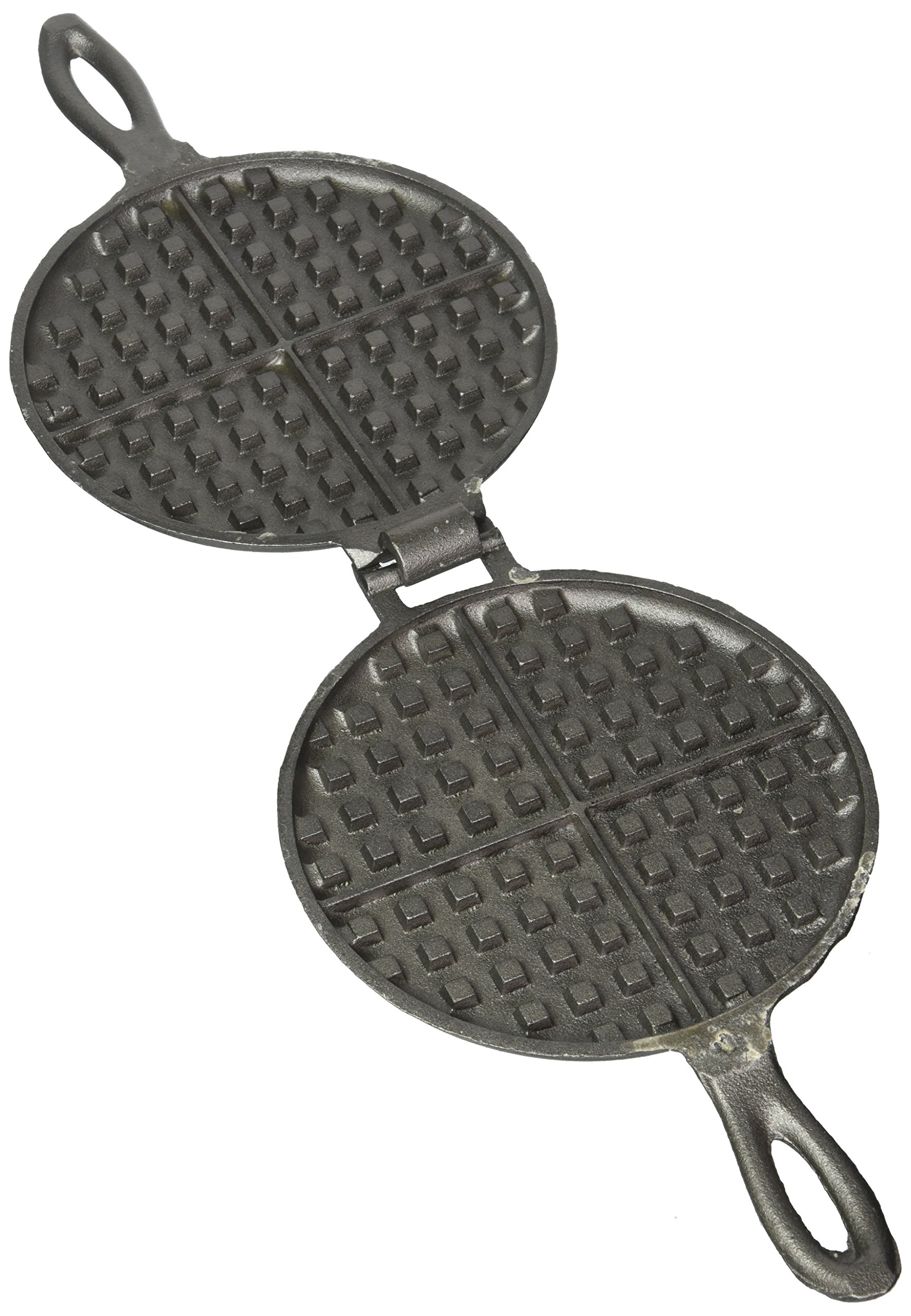 Solid Cast Iron Old Fashioned Waffle Iron by Rome's Original by Rome's Original (Image #2)