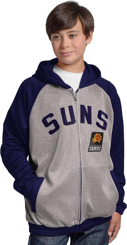 G-III Licensed Apparel NBA boys Legend Hooded Track Jacket