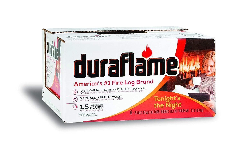 Duraflame 625 Firelog (6 Pack), 2.5 lb 00625