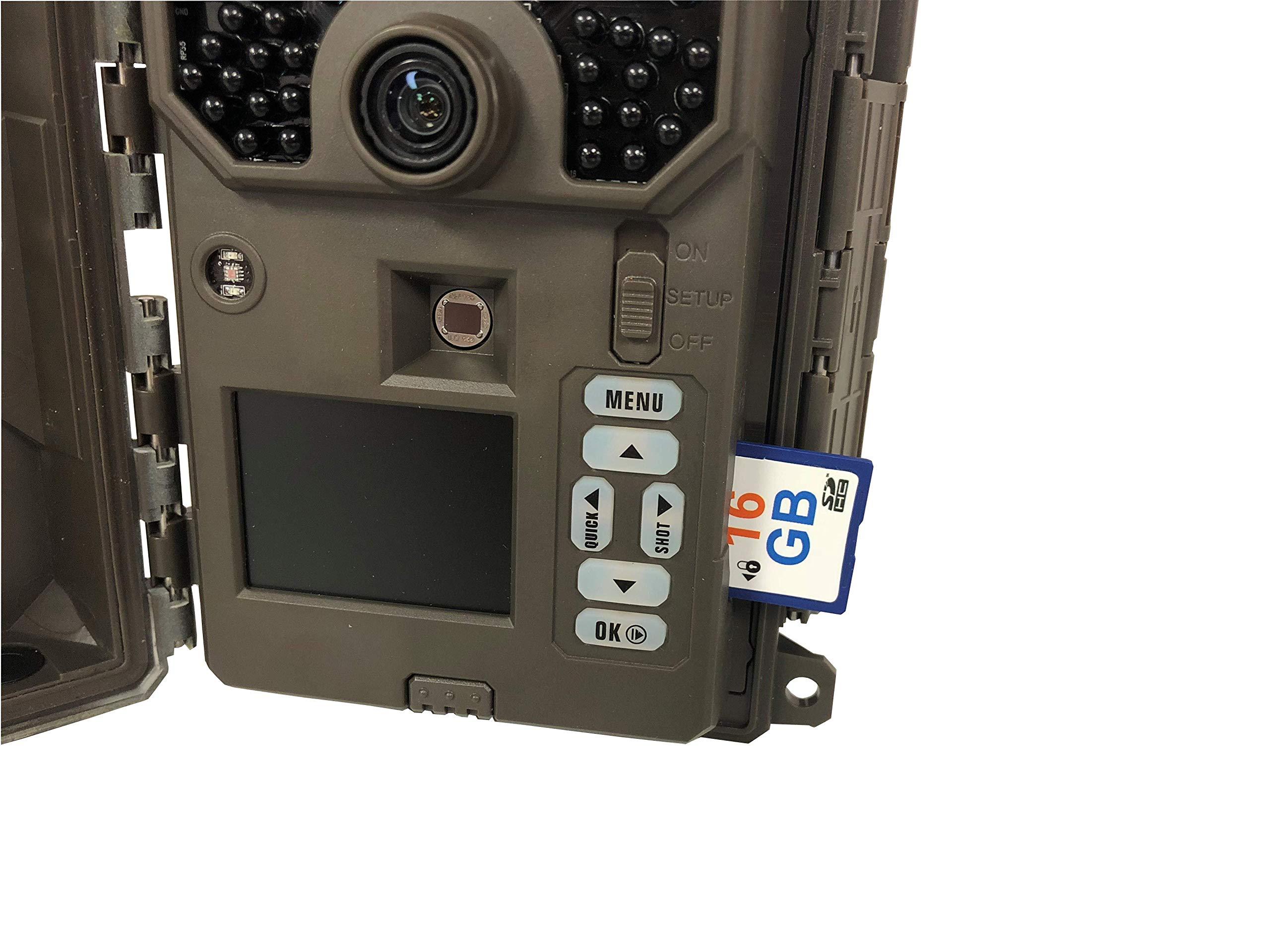 FirstCam 16GB SD Card for Trail Cameras and Game Cameras