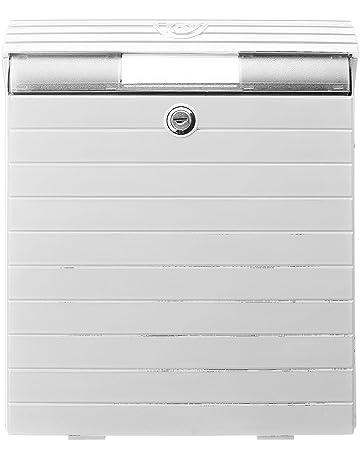 TATAY 0043007 Buzón Grande de Exterior de Gran Resistencia y Durabilidad, Plástico ABS, Blanco